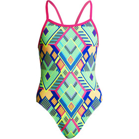 Funkita Single Strap One Piece Swimsuit Girls Diamond Fire